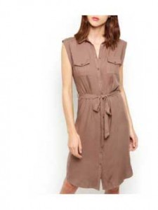 product-new-look-robe-chemise-mi-longue-marron-clair-nouee-a-la-taille-avec-manches-a-revers-29712788
