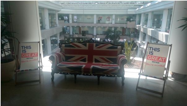 VisitBritain Couch