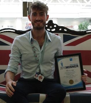 Duncan - SES Intern Winner 2015