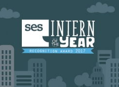 "Alexandra crowned ""SES Intern of the Year"" for 2017"