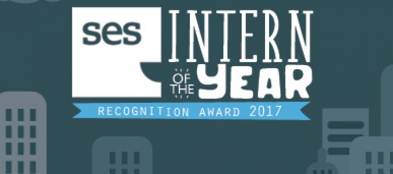"""Alexandra crowned """"SES Intern of the Year"""" for 2017"""