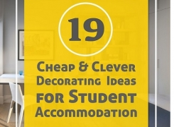 19 Cheap & Clever Decorating Ideas for Student Accommodation